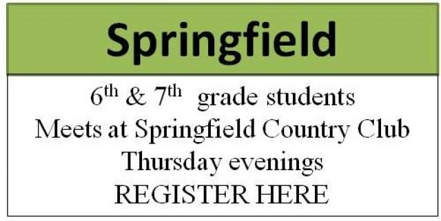 Springfield Chapter registration